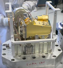 Los Alamos National Labs- NASA Super Cam Assembly with Boyd Corp. Heat Pipes