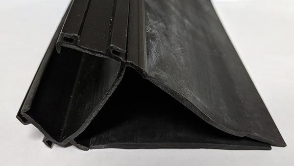 Harmless Rubber Bloom showing on rubber components after storage